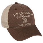 Brannan's Bass Shop Unstructured Cap