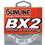 Sunline BX2 Slick & Strong Green Braid 125yds