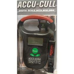 Accu Cull 55lb Digital Scale w/ mini Grip