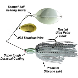 Picasso Tandem Thunde Willow Spinnerbaits