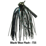Black/Blue Flash