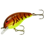Brown Craw/Chartreuse Belly