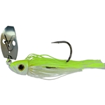 Chartreuse/White/Nickel Blade