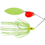 Mud Hole Fl. Red/Chartreuse Blades