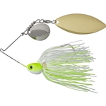 Chartreuse & White (Nickel/Gold Blades)