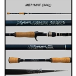 "Gen 2 XAS 7'1"" Medium Heavy Fast Casting Rod (Cork)"