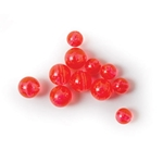 Eagle Claw Red Fl. Beads Assorted 40 ct