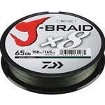 Daiwa J-Braid Dark Green 165yds